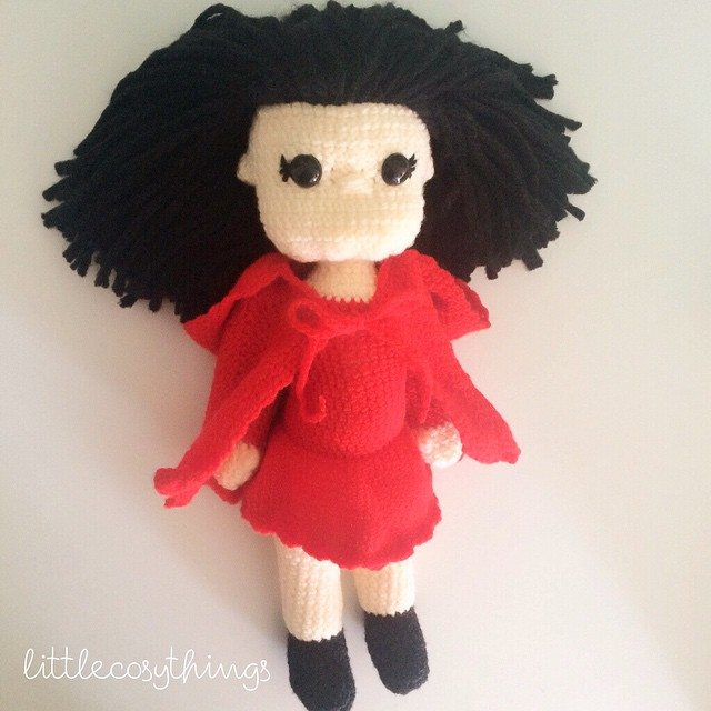 littlecosythings crochet doll