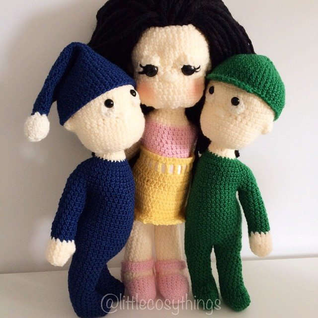 littlecosythings crochet dolls