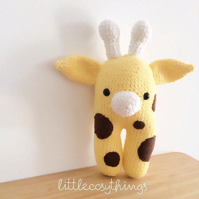 littlecosythings crochet giraffe