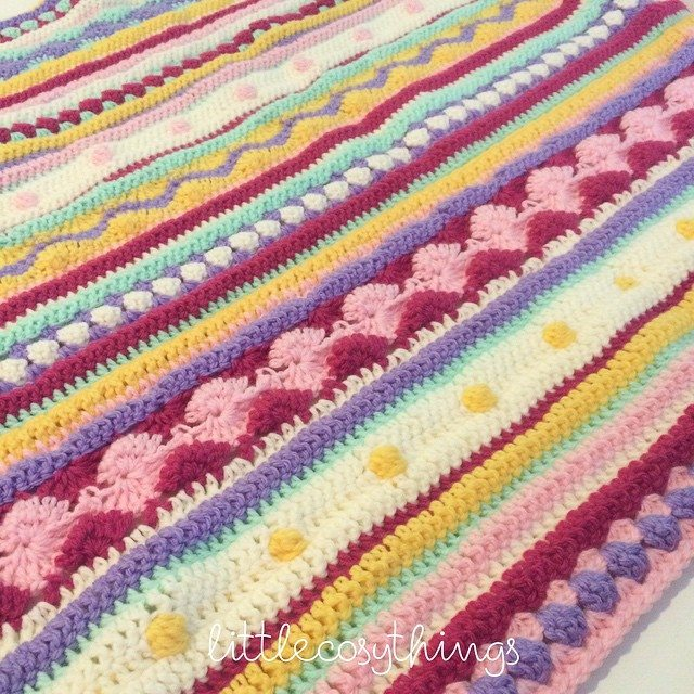 littlecosythings crochet stripes