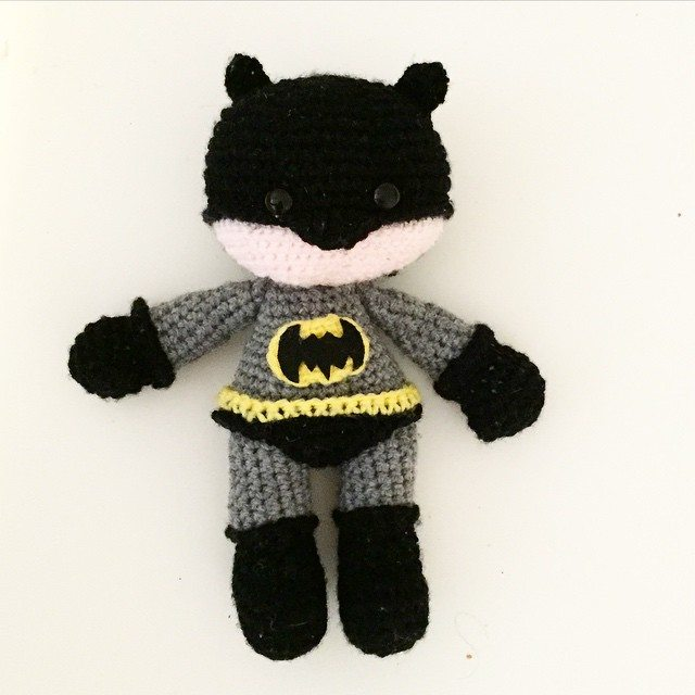littlefoxcrochet crochet batman