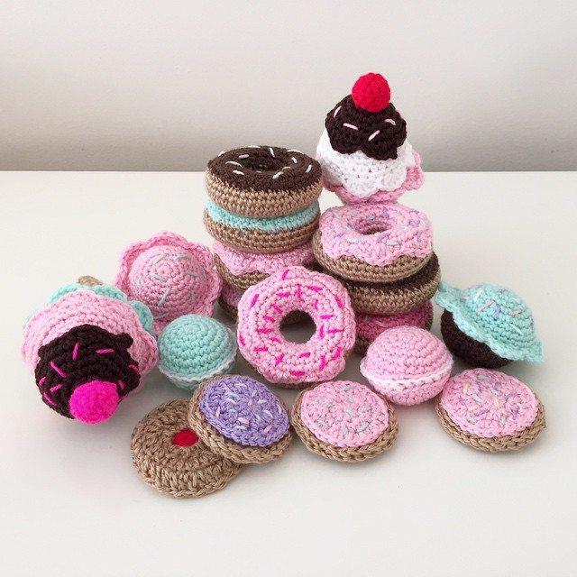 littlefoxcrochet crochet sweets