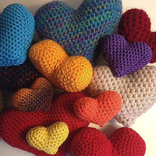 louloudeane crochet hearts 3