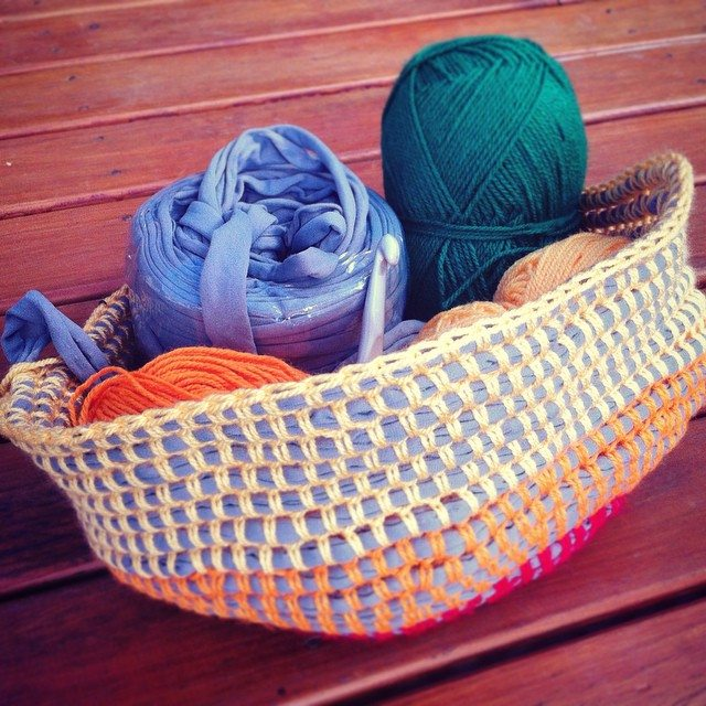 lyndapc crochet basket