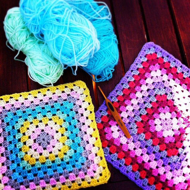 lyndapc crochet granny squares