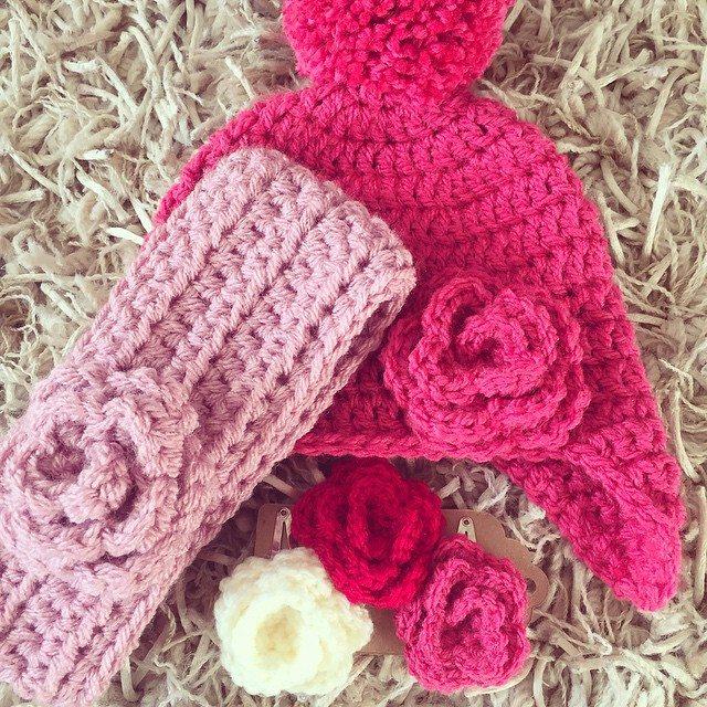 mamma_made_that crochet pink