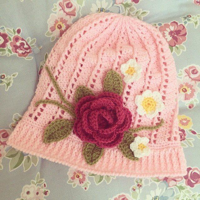 mamma_made_that crochet spring hat