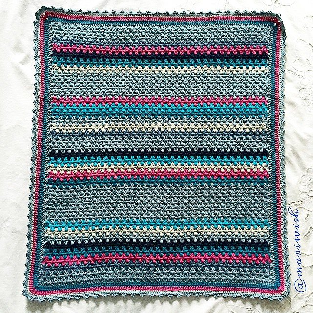 mariwish crochet granny stripes