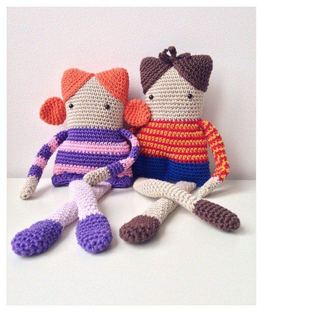 marretjeroos crochet dolls
