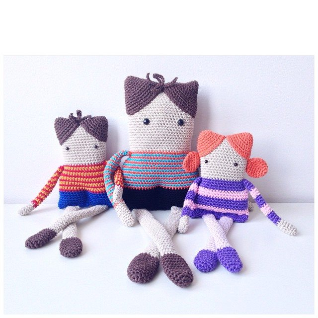 marretjeroos crochet dolls