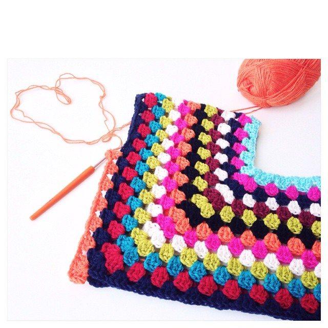 marretjeroos crochet poncho