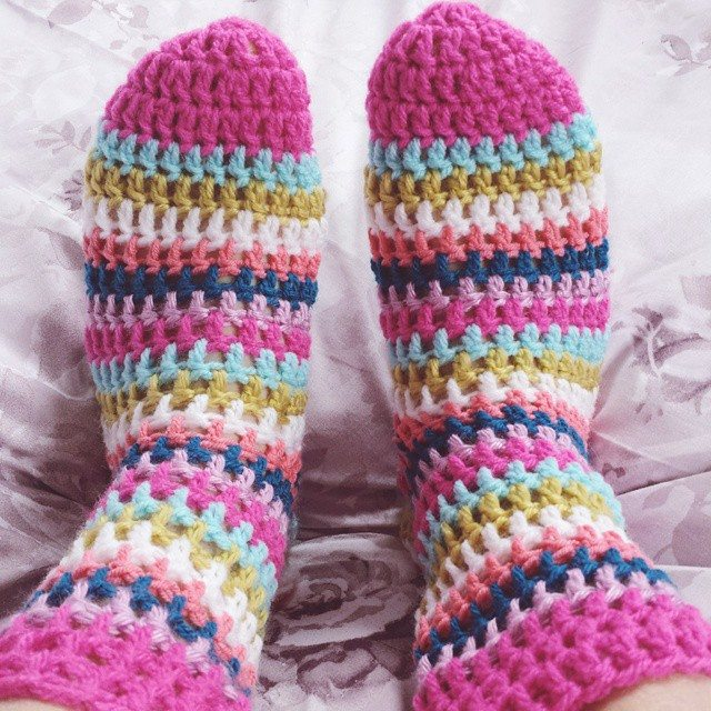 missmotherhook crochet socks 2