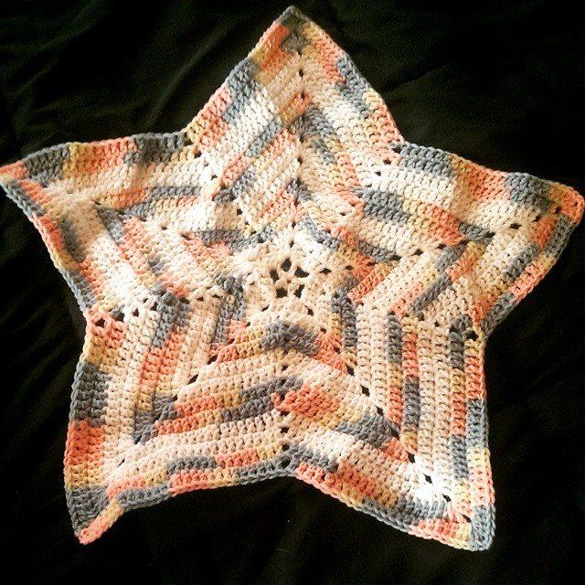 mlissabethgr crochet star blanket