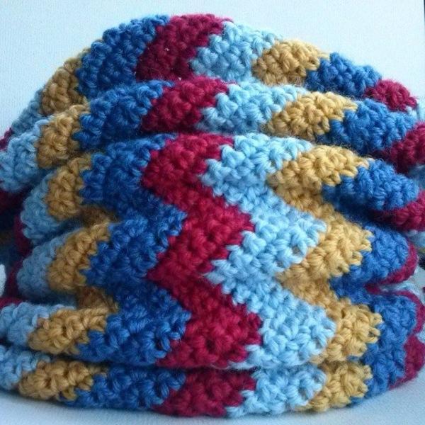mrsdaftspaniel crochet chevron
