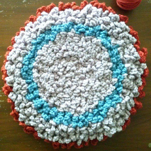 mrsdaftspaniel crochet rug