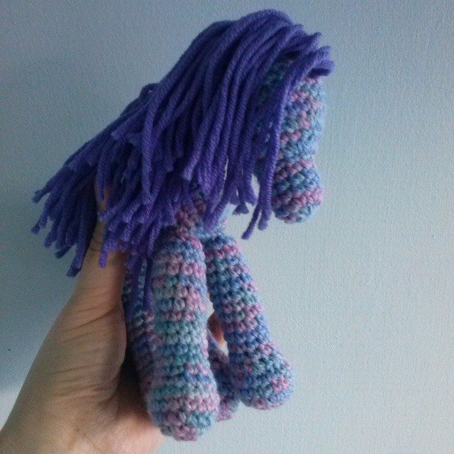 mrsdaftspaniel crochet unicorn