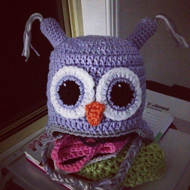 nessbombaert crochet owl