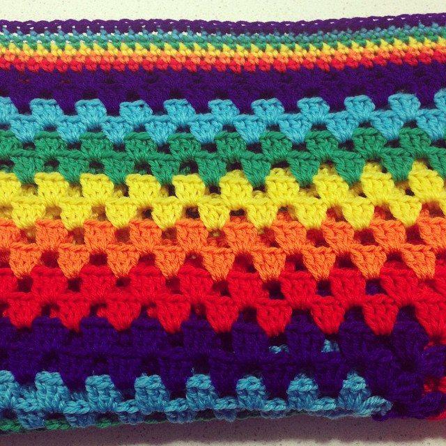nessbombaert crochet rainbow