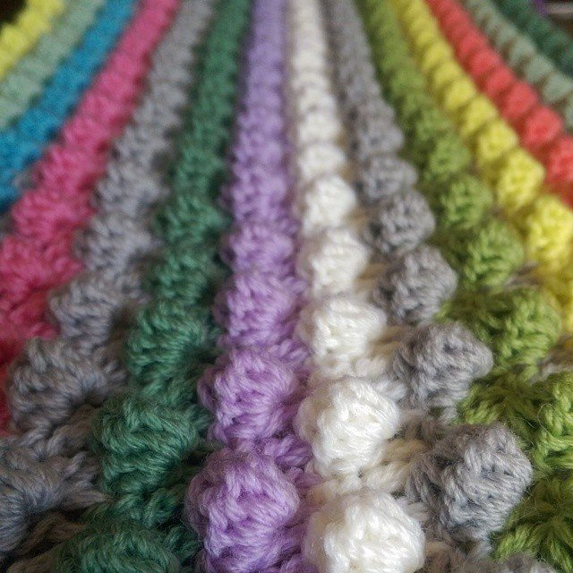 oakherder crochet bobble stitch