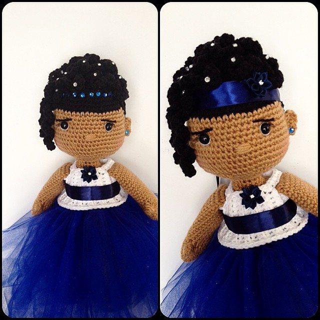 offdhookcreations crochet doll
