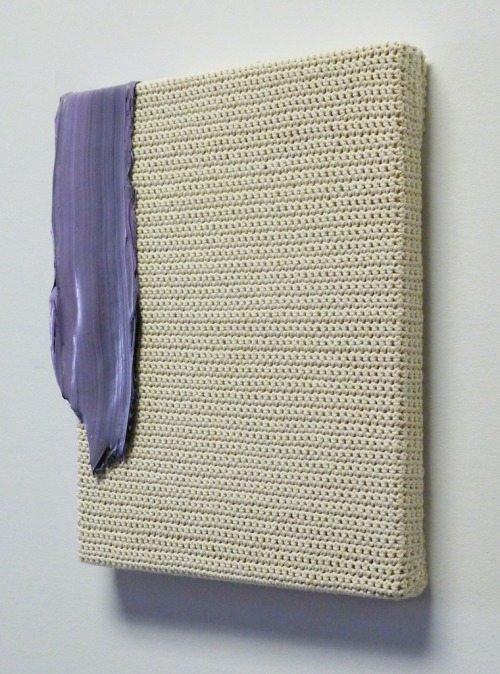 paint on crochet cotton