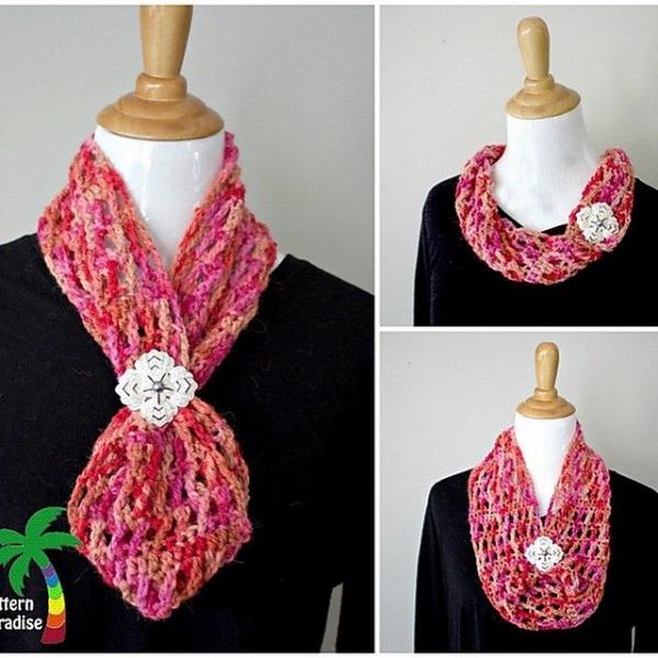 patternparadise crochet cowl