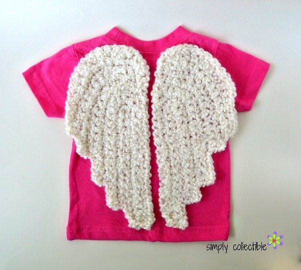 crochet angel wing pattern