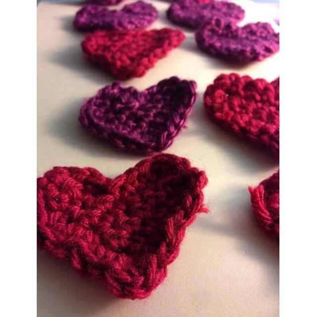 rebeccabeedesigns crochet heart