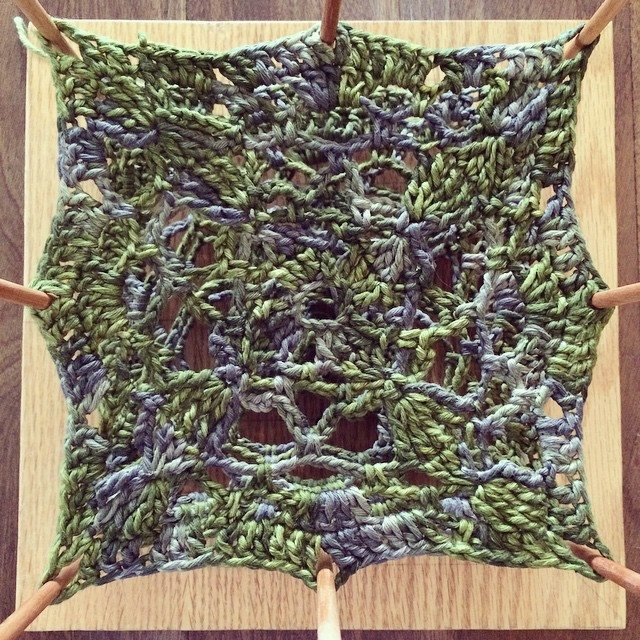 stelcrochet crochet block