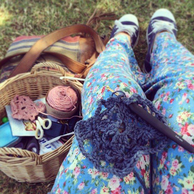 stelcrochet crochet square