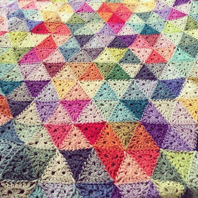 stelcrochet triangle crochet