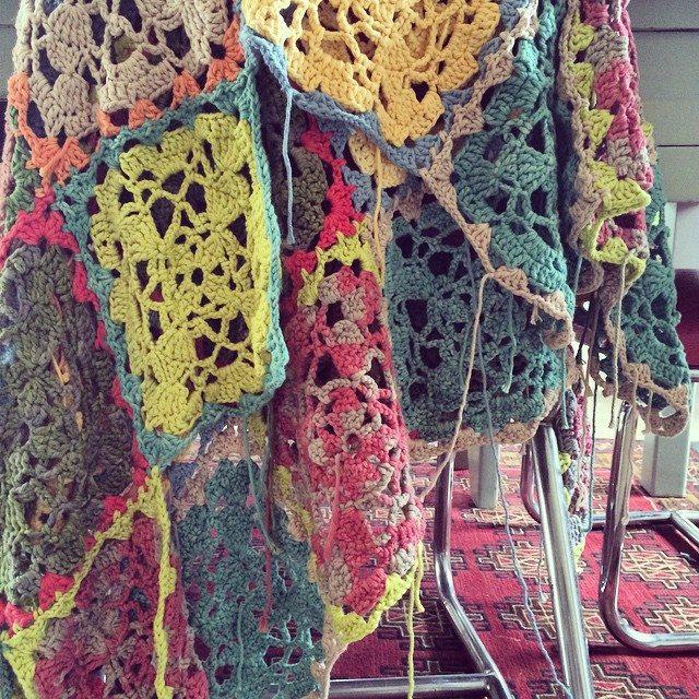 stelcrohet crochet squares blanket