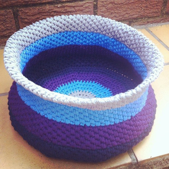 stephaniedavies crochet basket