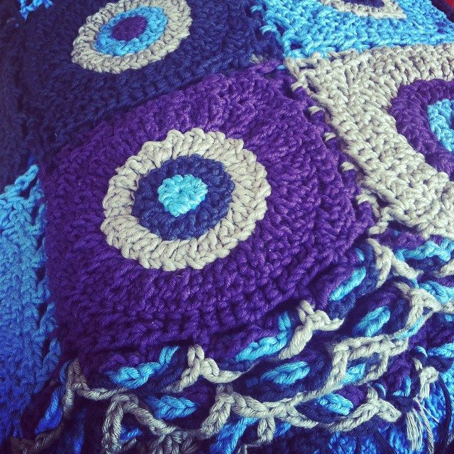 stephaniedavies crochet wip blanket