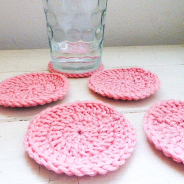 stitchyimpressions crochet coasters