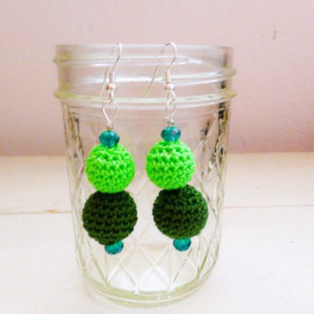 stitchyimpressions crochet earrings