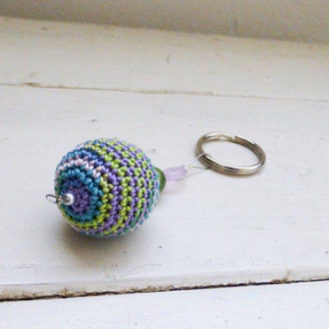 stitchyimpressions crochet keychain