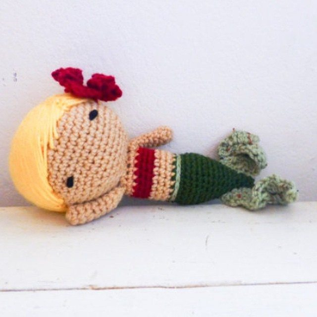 stitchyimpressions crochet mermaid