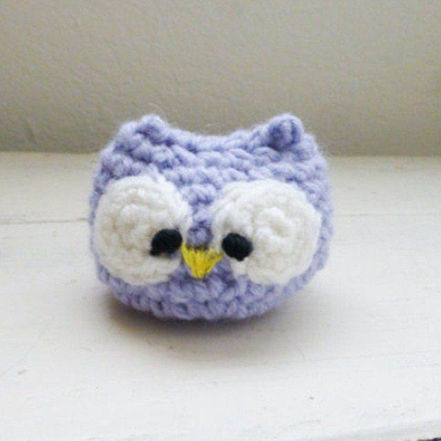 stitchyimpressions crochet owl