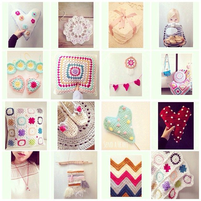 sweet_sharna crochet collage