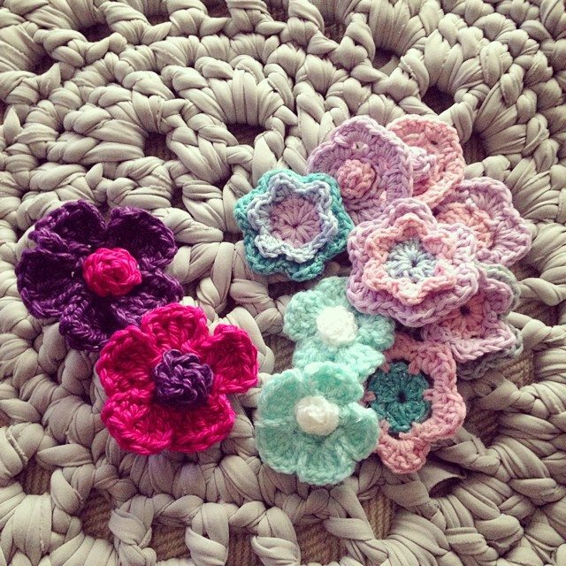 sweet_sharna crochet flowers 3