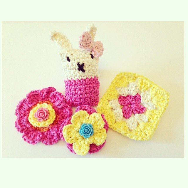 sweet_sharna crochet flowers