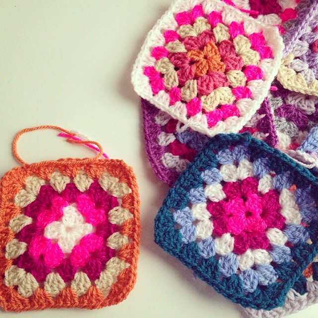 sweet_sharna crochet granny squares