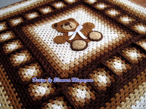 Free Teddy Bear Crochet Afghan Pattern : 44 Best 2015 Crochet Patterns to Purchase