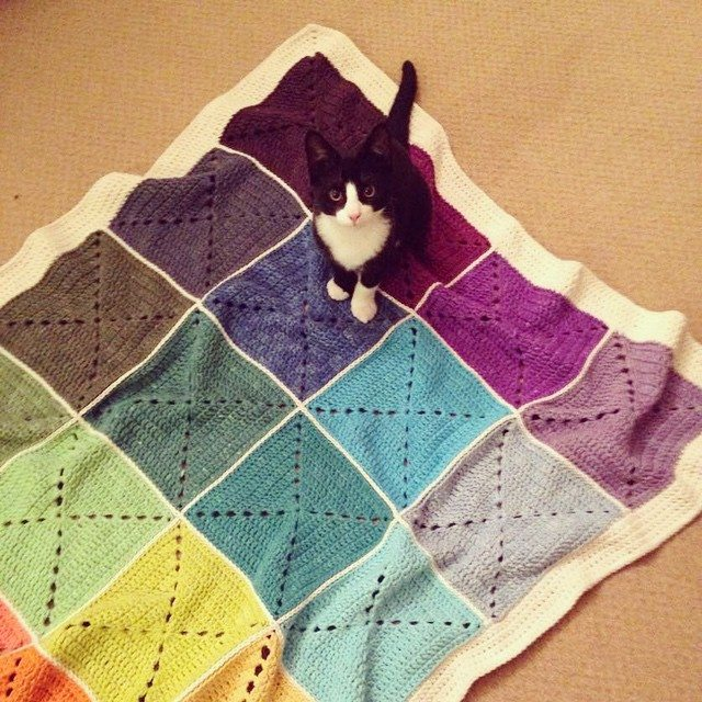 telcrochet crochet blanket