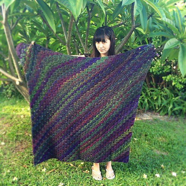 thatgirlwhocrochets crochet blanket 2