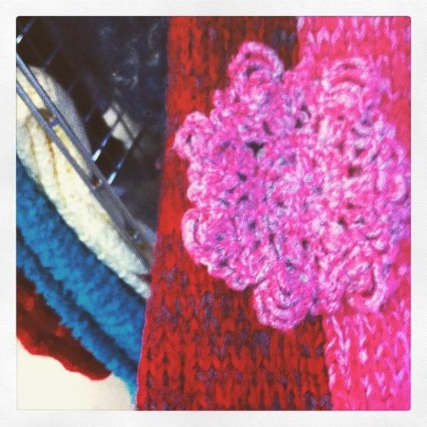 thrift store crochet