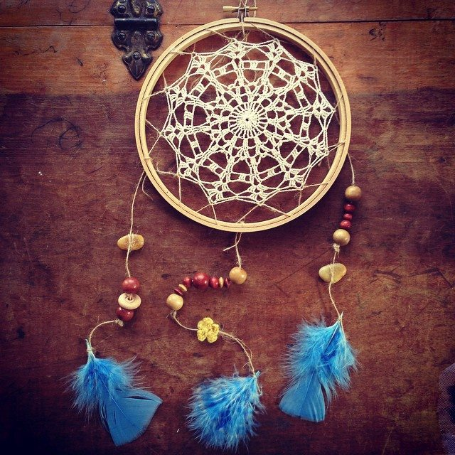 woolyana crochet dreamcatcher
