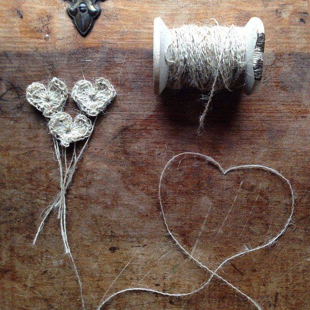 woolyana crochet hearts