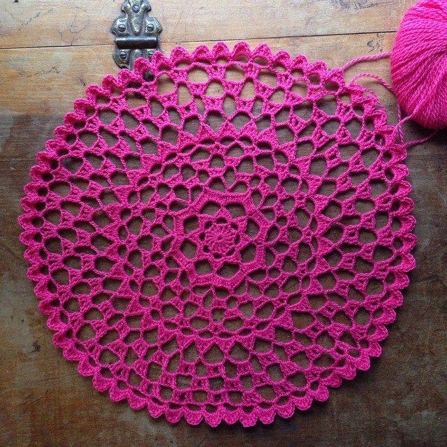woolyana doily crochet